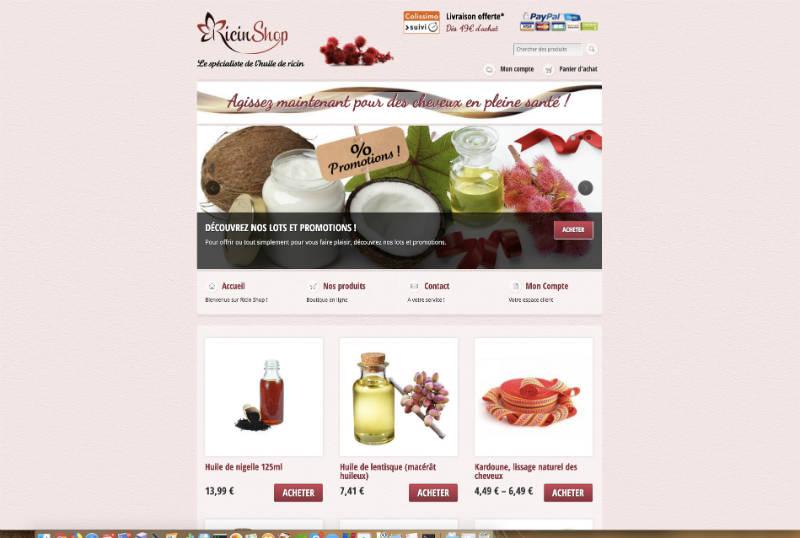 Ricin Shop France