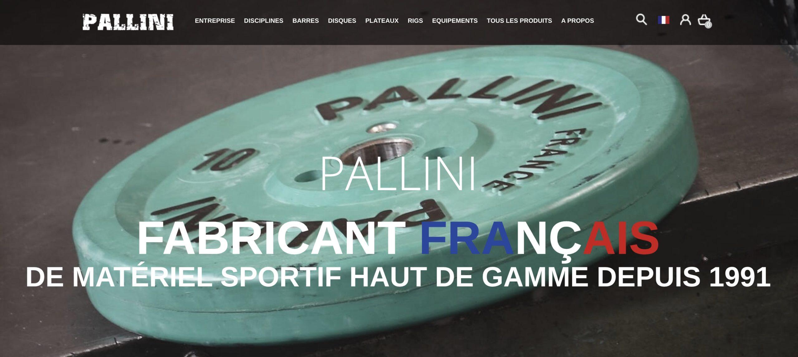 Pallini Sport – matériel d'haltérophilie