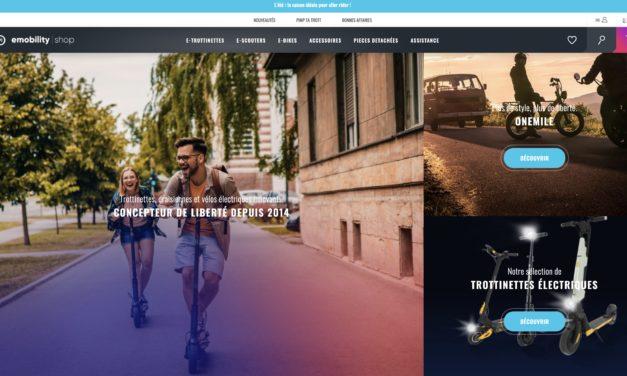 EmobilityShop : le spécialiste de la trottinette électrique en France