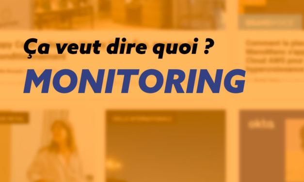 Le monitoring de site web et ses outils