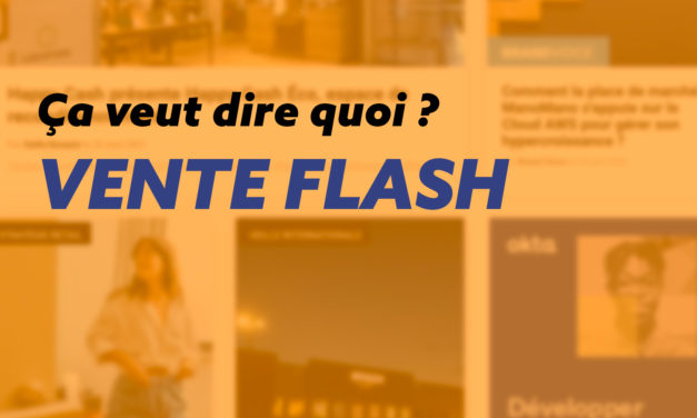 Guide complet, explication d'une vente flash